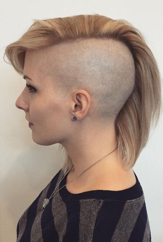 26+ Half head shaved haircut information