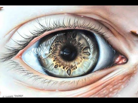 Drawing A Hyper Realistic Eye Using Coloured Pencils Youtube