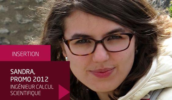 Sandra, promo 2012, ingénieur calcul scientifique à la Compagnie Générale de Géophysique