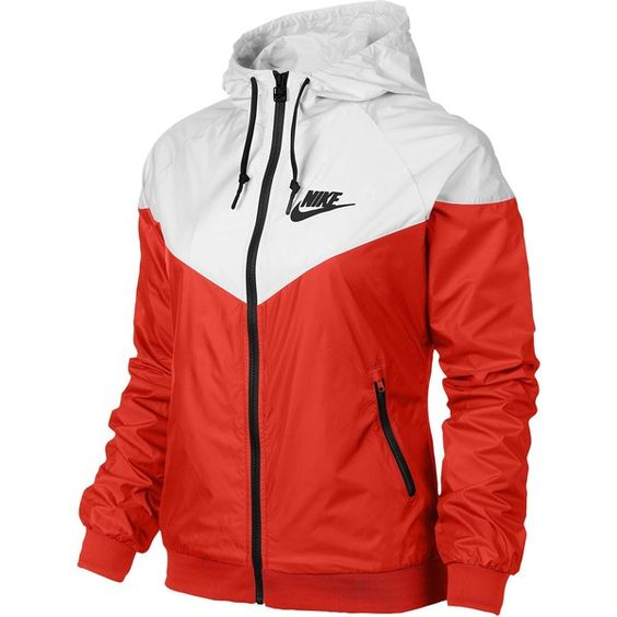 Nike Windrunner Jacket Women's ($85) ❤ liked on Polyvore featuring activewear, activewear jackets, jackets, nike, nike sportswear and nike activewear