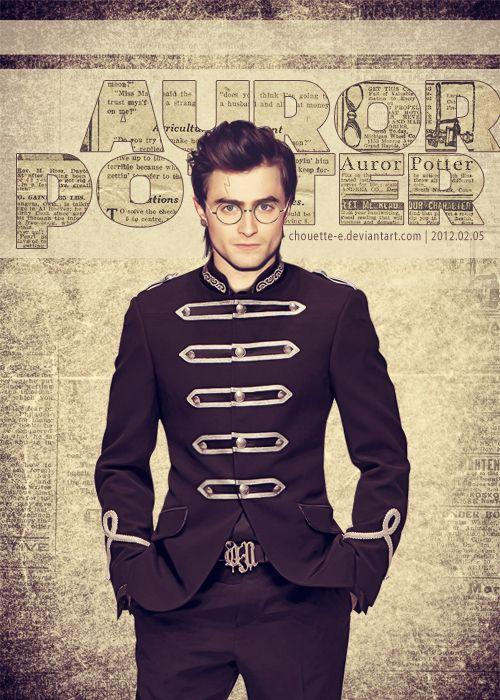 Auror Potter. Oh my.