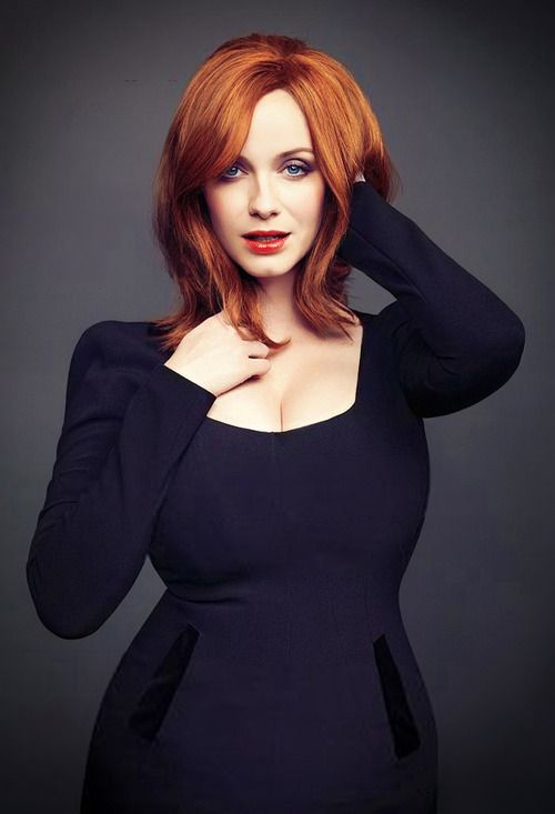 Christina Hendricks for inspiration in light design and art direction.