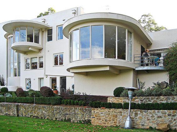 Melbourne Art Deco House Art Deco And Art Nouveau