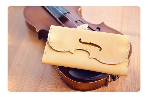 Violin Series Tanning Stuff Handmade bags