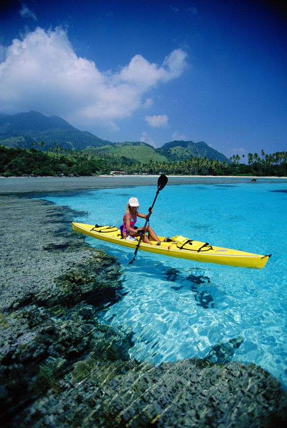 Kayaking Fiji And Islands On Pinterest