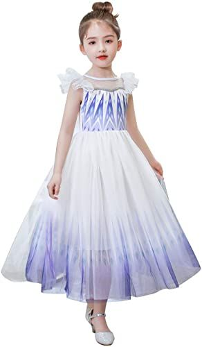 SPUNICOS Deluxe Princess Costume Dress with and Without Accessories Options Available
