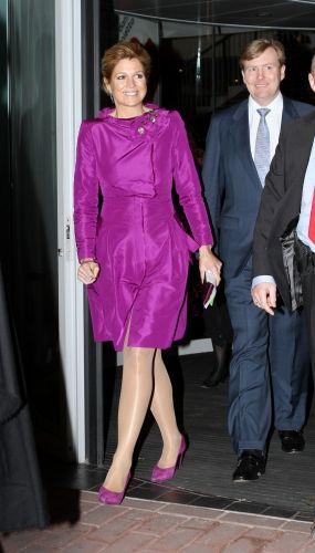 Reine Maxima roi Willem Alexander