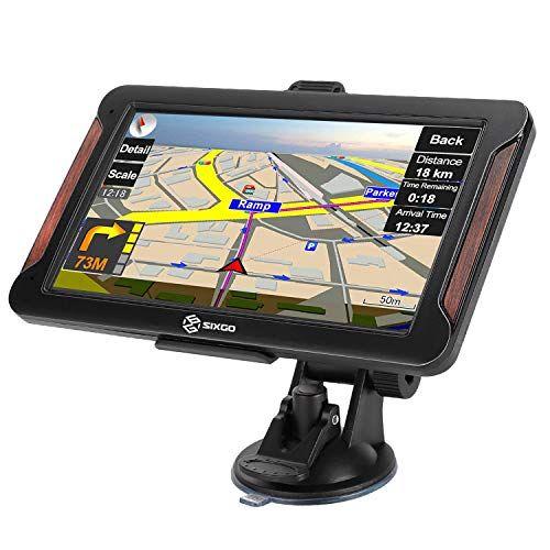 Sixgo Gps Navigation For Car 7 Inch Gps Navigation System For