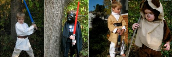 DIY Star Wars Costumes and a HUGE list of Homemade Costume Ideas!