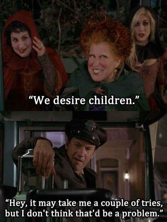 Image result for we desire children hocus pocus