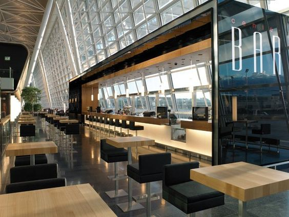 10 spectacular airport lounges around the globe impress for Interior design zurich