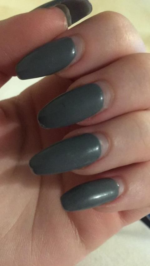 D I Y How To Fix Grown Out Acrylic Nails Easy And Free Fake Gel Nails Take Off Acrylic Nails Remove Acrylic Nails