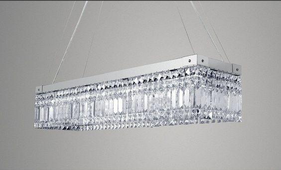 luminárias retangulares - Pesquisa Google