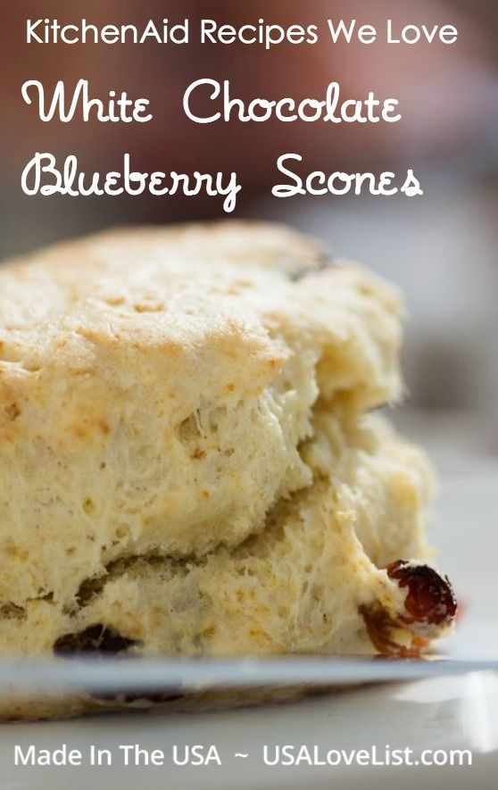 Blueberry scones, Scones and KitchenAid on Pinterest