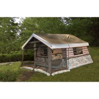 Igloo 8-Man Log Cabin Tent — Front Porch and All