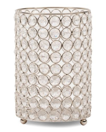 HOME ESSENTIALS AND BEYOND Made In India Monroe Crystal Hurricane
