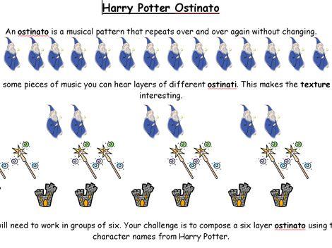 Harry Potter Ostinato