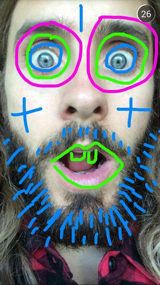 Jared Leto's snapchat