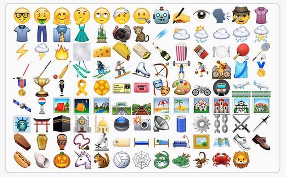 Bugün yayınlanacak olan #iOS'un 9.1 güncellemesi ile #emoji sayıları ve çeşitliliği artacak. Son zamanlarda yoğunlukla kullanılan emojilerin çeşitliliğinin artması ile paylaşımlar ve mesajlaşmalar daha renkli olacak.