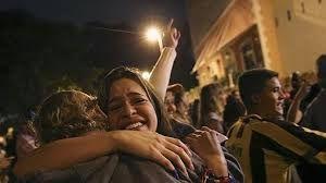 Resultado de imagen para celebracion de la victoria de la mud en elecciones parlamentarias