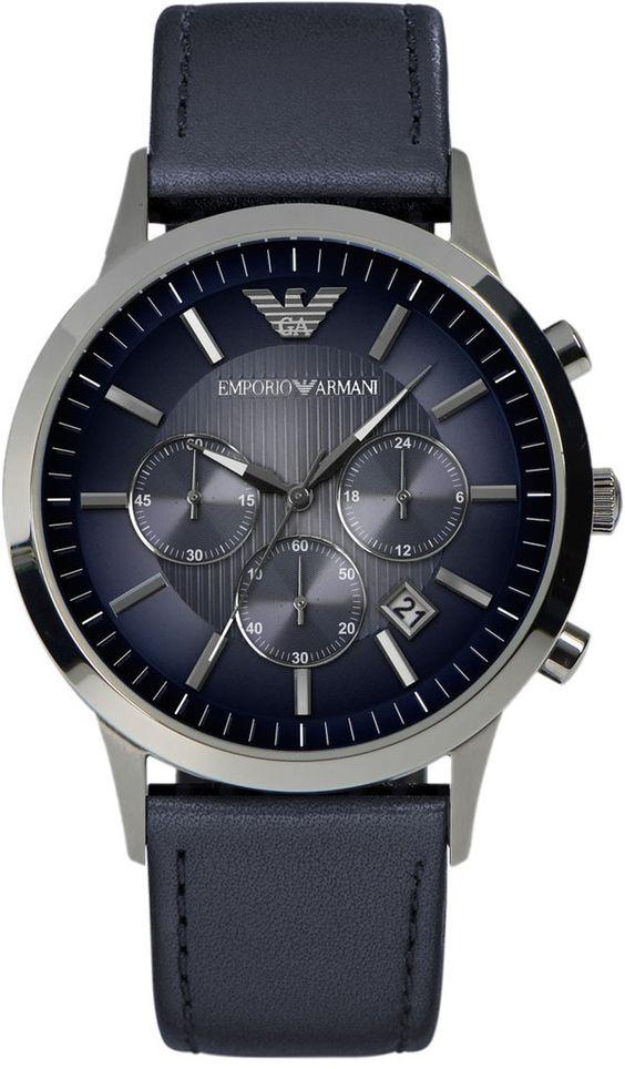 ֎ΛΜ֍ ™ Time travelers ⌚️   Emporio Armani http://www.thesterlingsilver.com/product/glycine-lagunare-automatic-l1000-steel-mens-divers-watch-white-dial-calendar-3899-11-d9/