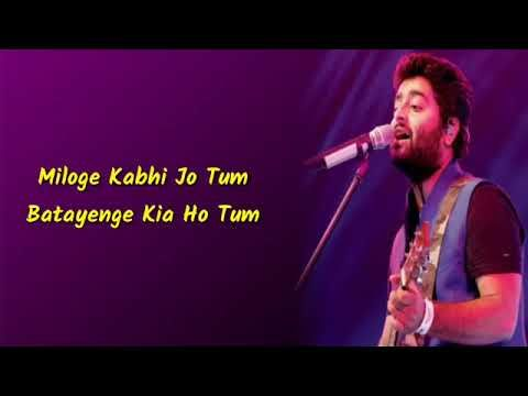 Dil Mera Chahe Official Vidoe Arijit Singh New Song Lyrical Video Song 2019 T4u Music Youtube In 2020 Songs News Songs Music Songs