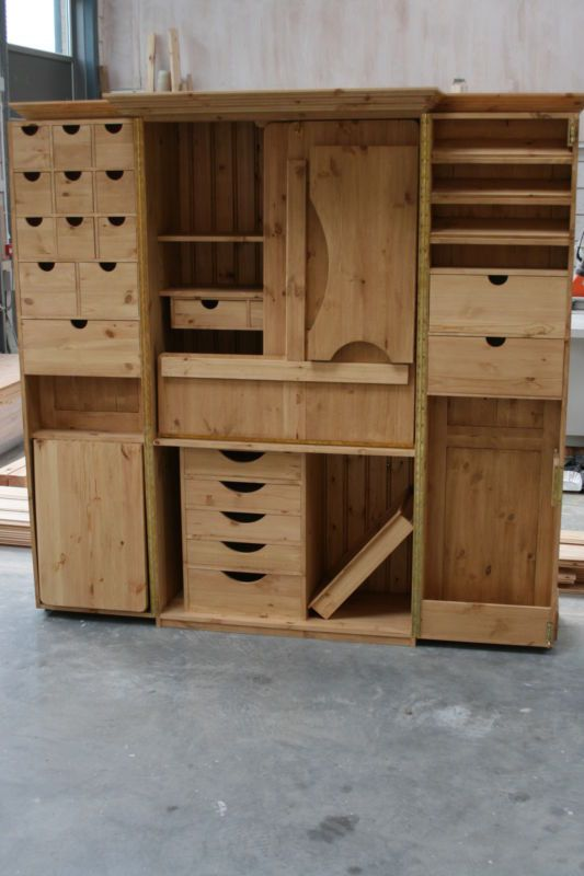 Sewing Cabinet. Facades Quilting Cupboard Deluxe. Facades Of Devon