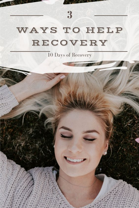 3 Ways to help recovery today.