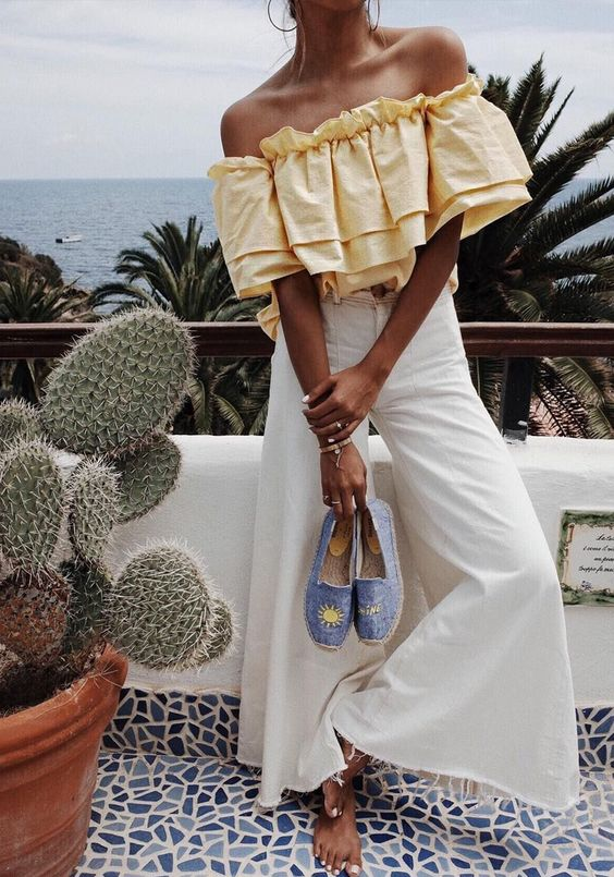 Calça branca: a trend mais atemporal desse ano - Ladies Mag
