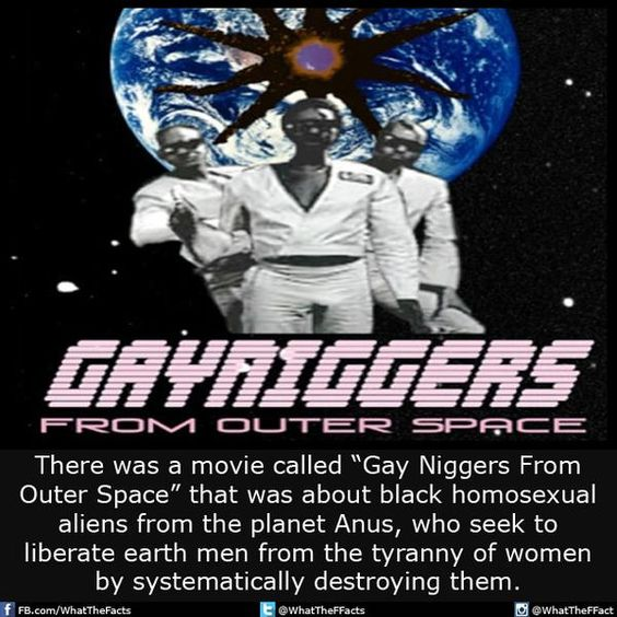 from Jax gay niggas from outer space