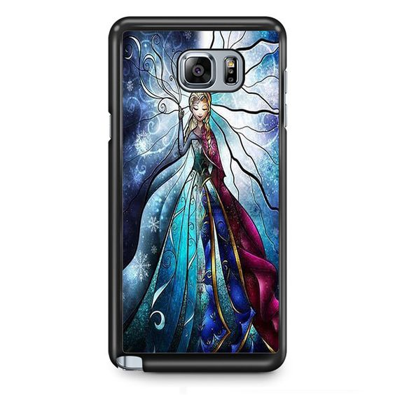 Frozen Elsa And Anna TATUM-4453 Samsung Phonecase Cover Samsung Galaxy Note 2 Note 3 Note 4 Note 5 Note Edge