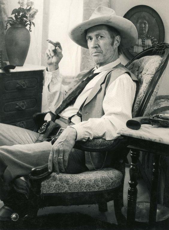 David Carradine Portrait