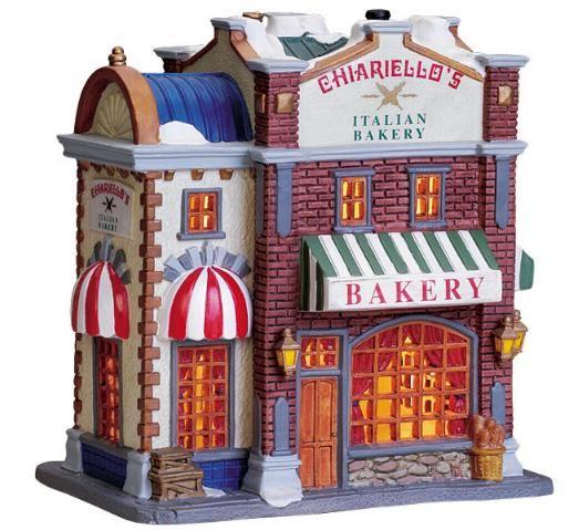 bakery   christmas village   Pinterest   Bakeries
