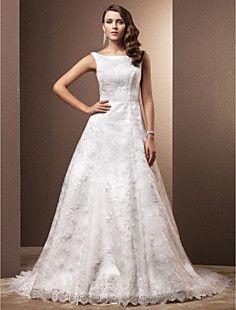 bola vestido de colher capela treinar vestido de noiva de r... – BRL R$ 363,46