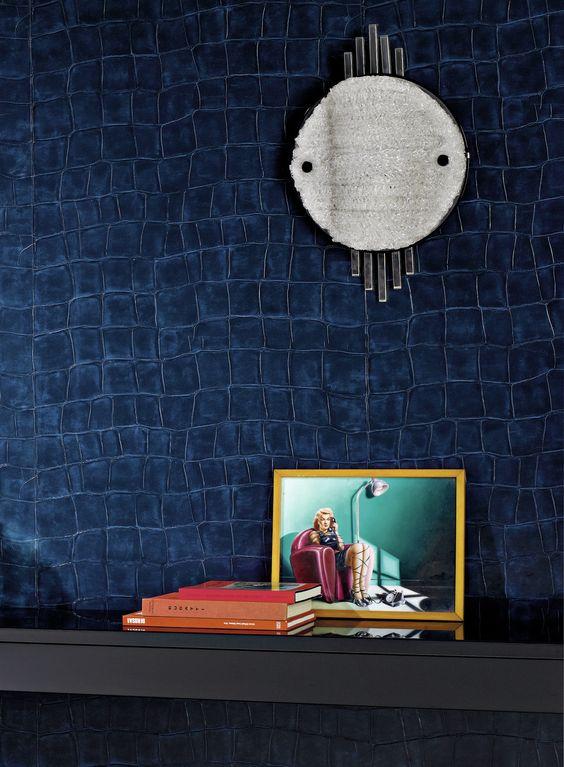 litis auteur et editeur papier peint 39 big croc 39 papier peint pinterest couleurs cuir. Black Bedroom Furniture Sets. Home Design Ideas