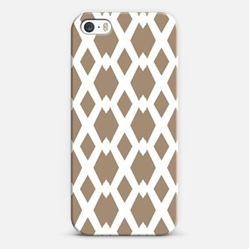 Daffy Lattice Cafe Latte iPhone 5s case by Lisa Argyropoulos | Casetify