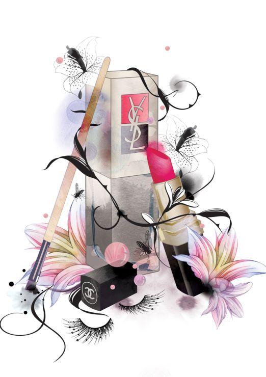 Fashion Illustration By Nadia Flower