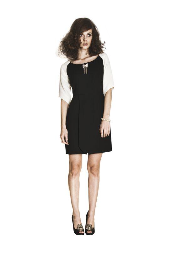 Jackie dress, available at www.aliciatomzak.com