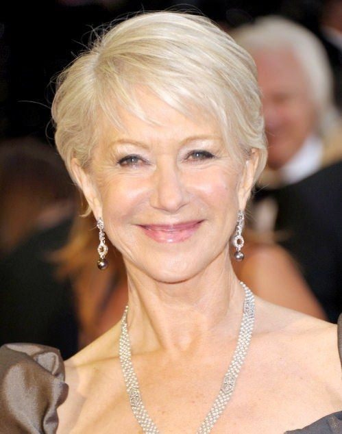 Go for Platinum Blonde Color Hairstyles for Women Over 50