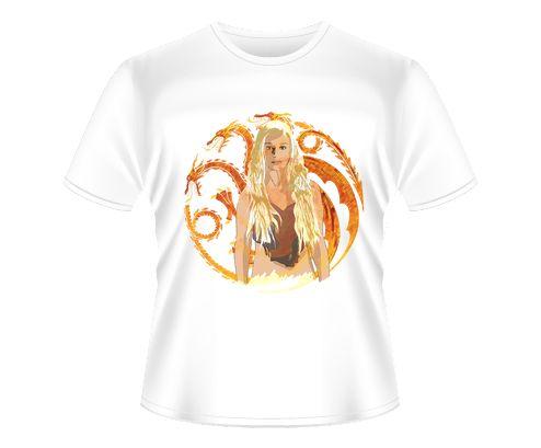 Game of Thrones - Daenerys Targaryen (Vector)