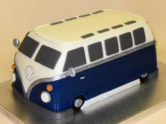 #vw #campervan #cake
