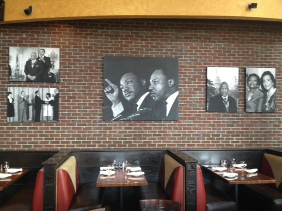 Paschal's was an important meeting place for Civil Rights leaders.