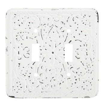 Pin By Robyn Pelligra On House Remodel Switch Plates Distressed White Rental Decorating