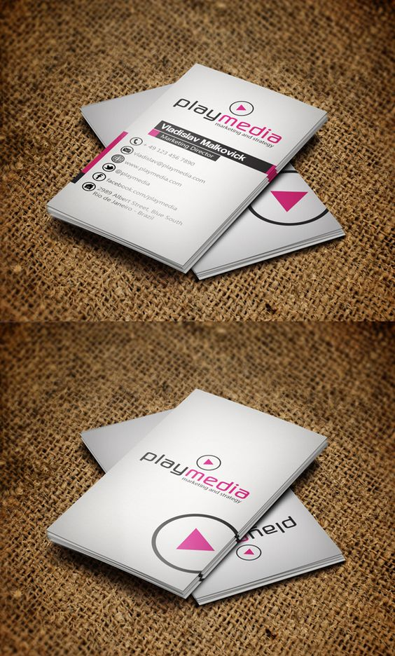 32 Highly Creative And Cool Floor Designs For Your Home: Business Cards Design: 32 (Really) Creative Examples