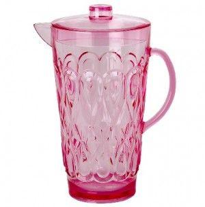 Waterkan in roze acryl