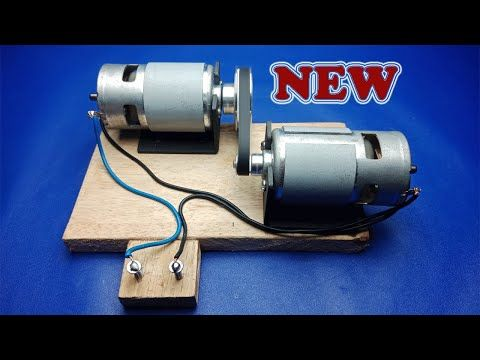 Free Energy 12 Volt Dc Motor Generator New Creativity For New Ideas 2020 Youtube In 2021 Free Energy Free Energy Generator Motor Generator