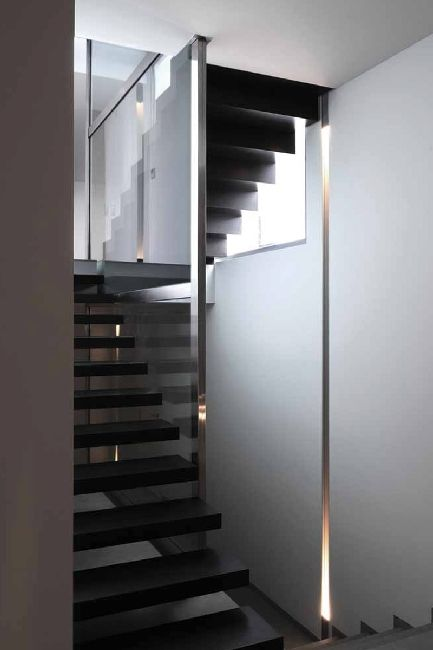 *stairs, modern interiors, design, indoor lighting* - Dolma from Alno Lighting