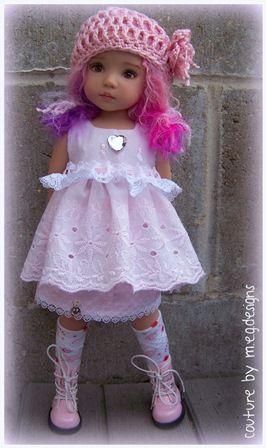 m.e.g. designs effner doll: