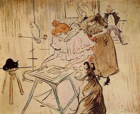 The Motograph - Henri de Toulouse-Lautrec