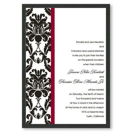 Victorian Damask from The American Wedding
